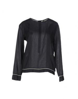 Блузка LOCAL APPAREL. Цвет: свинцово-серый