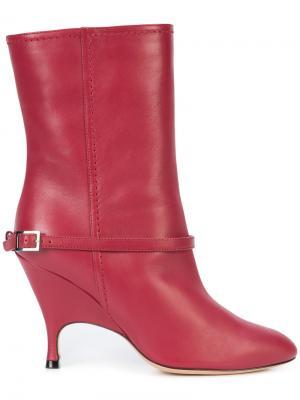 Ботинки с ремешками Alchimia Di Ballin. Цвет: красный