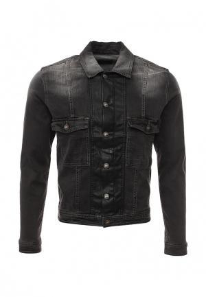 Куртка джинсовая Sixth June. Цвет: серый