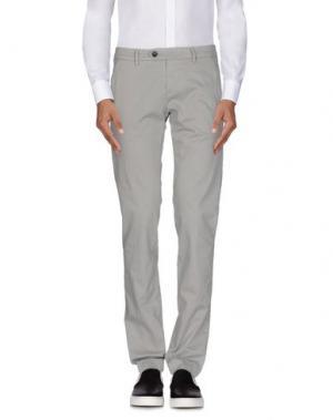 Повседневные брюки ROŸ ROGER'S. Цвет: серый