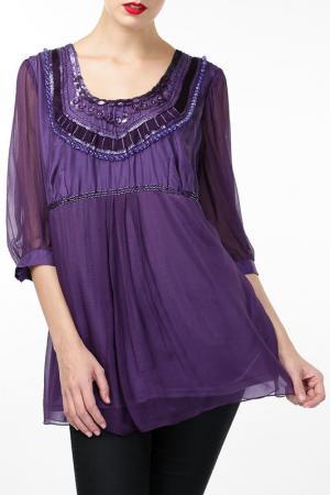 Блуза Malvin. Цвет: фиолетовый