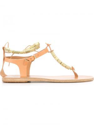 Сандалии Chrysso Ancient Greek Sandals. Цвет: телесный