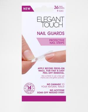 Elegant Touch Защитные накладки для ногтей. Цвет: очистить