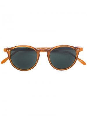 Tinted sunglasses Pantos Paris. Цвет: жёлтый и оранжевый