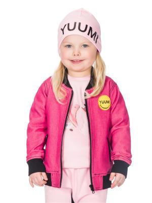 Шапочка Yuumi Smile. Цвет: розовый