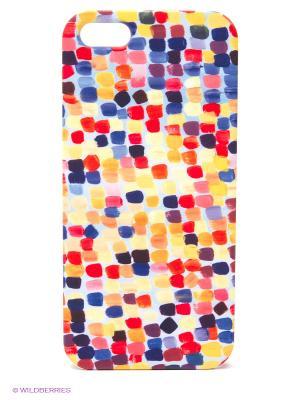 Чехол для IPhone 5 Палитра Mitya Veselkov. Цвет: желтый, красный, синий