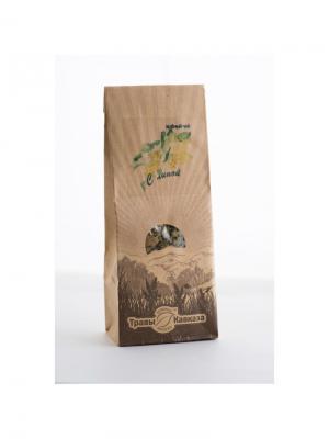 Чай черный с липой Травы Кавказа. Цвет: бежевый