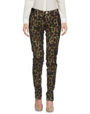 Повседневные брюки NORA BARTH. Цвет: темно-коричневый