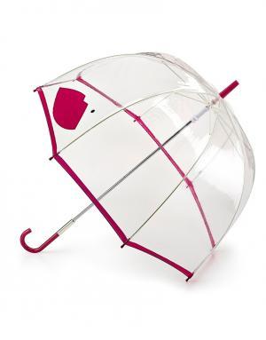 Зонт-трость Пурпурные губы  by Fulton Lulu Guinness. Цвет: красный
