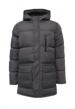 Куртка утепленная Brave Soul. Цвет: серый