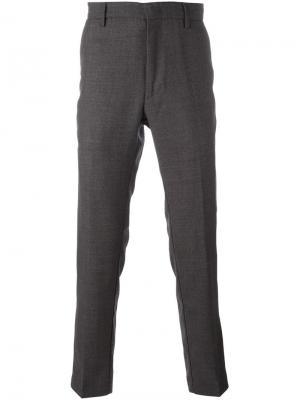 Прямые брюки Pence. Цвет: серый