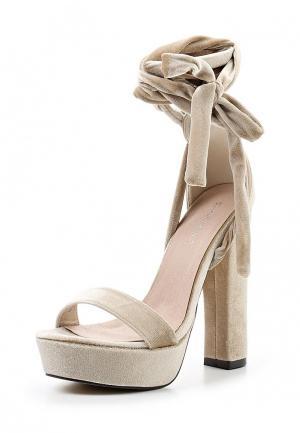 Босоножки Sweet Shoes. Цвет: бежевый