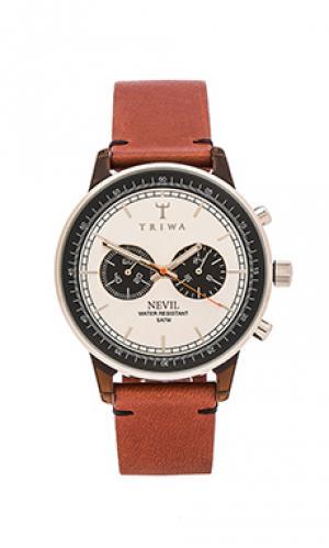 Часы nevil TRIWA. Цвет: коньячный