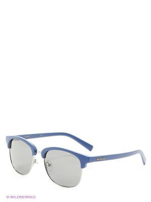 Солнцезащитные очки Polaroid. Цвет: серебристый, черный