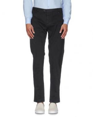 Повседневные брюки OFFICINA 36. Цвет: темно-коричневый