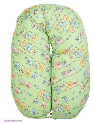 Подушка для беременных EUROMAMA. Цвет: зеленый