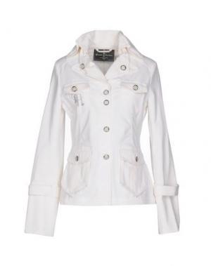 Куртка MANUEL LUCIANO. Цвет: белый