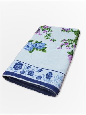 Полотенце махровое ZLATA KORUNKA. Цвет: голубой
