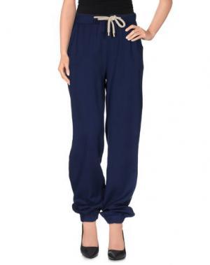 Повседневные брюки SISTE' S. Цвет: синий