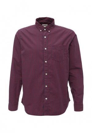 Рубашка Gap. Цвет: фиолетовый