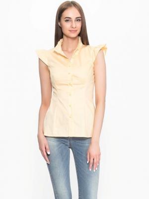 Блузка PAOLA MORENA. Цвет: персиковый
