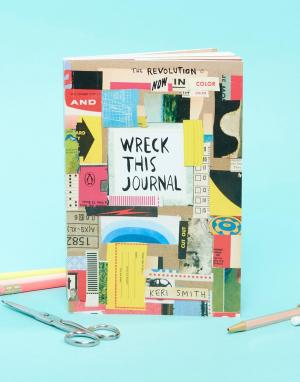 Books Книга Wreck This Journal. Цвет: мульти