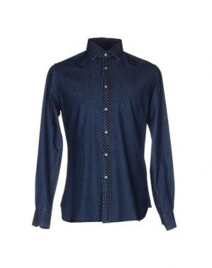 Джинсовая рубашка U.S.POLO ASSN.. Цвет: синий