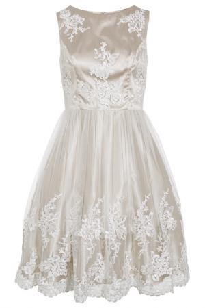 Бальное платье Apart. Цвет: кремовый