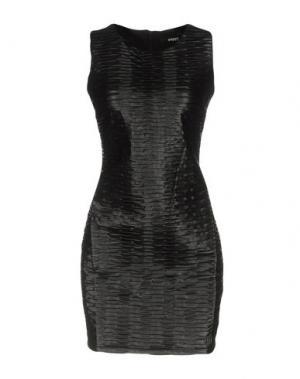 Короткое платье !M?ERFECT. Цвет: черный