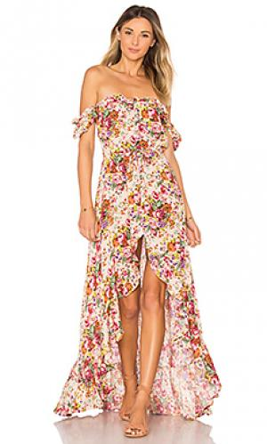 Платье willow day AUGUSTE. Цвет: розовый