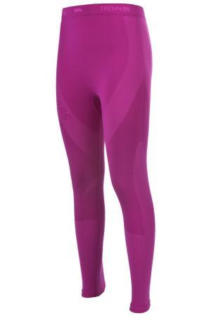 Термо брюки Trespass. Цвет: розовый