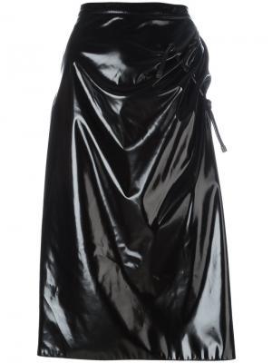 Юбка со сборками Kenzo. Цвет: чёрный