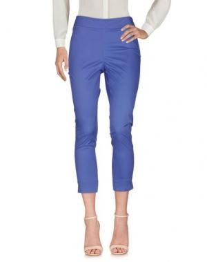 Повседневные брюки DEVERNOIS. Цвет: светло-фиолетовый