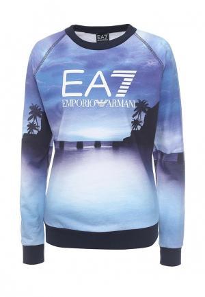Свитшот EA7. Цвет: синий