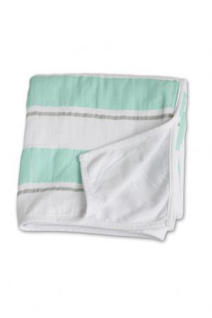 Детское одеяло в полоску Lulujo. Цвет: multicolor