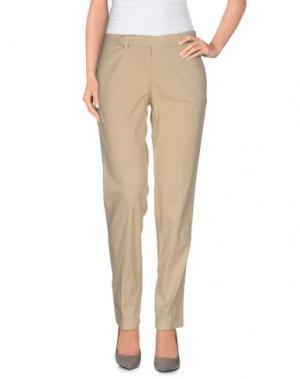 Повседневные брюки D-21. Цвет: песочный