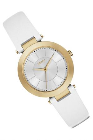 Наручные часы DKNY. Цвет: золотой, белый