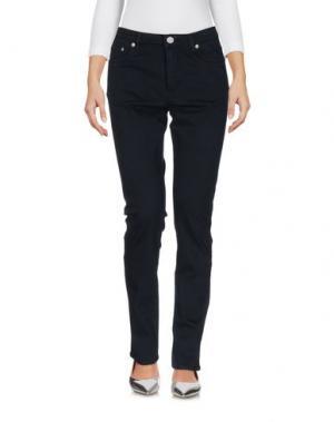Джинсовые брюки WOOD. Цвет: темно-синий