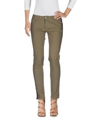 Джинсовые брюки SHOP ★ ART. Цвет: зеленый-милитари