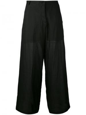 Расклешенные брюки Isabel Benenato. Цвет: чёрный