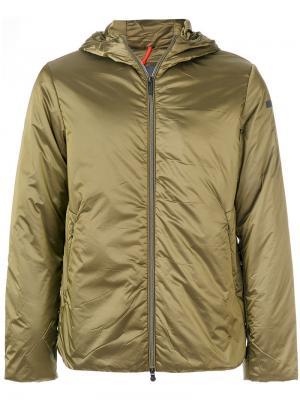 Куртка-ветровка с капюшоном Rrd. Цвет: зелёный