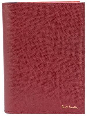 Обложка для паспорта Paul Smith. Цвет: красный