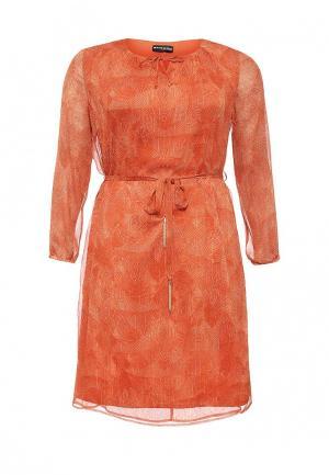 Платье Samoon by Gerry Weber. Цвет: оранжевый