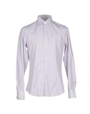 Pубашка ALESSANDRO GHERARDI. Цвет: фиолетовый