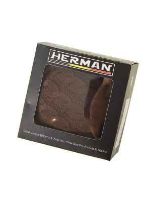 Наушники HERMAN. Цвет: коричневый