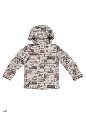 Куртка Luhta. Цвет: коричневый