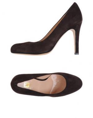 Туфли BRUNO MAGLI. Цвет: темно-коричневый