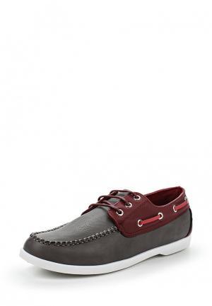 Топсайдеры WS Shoes. Цвет: серый