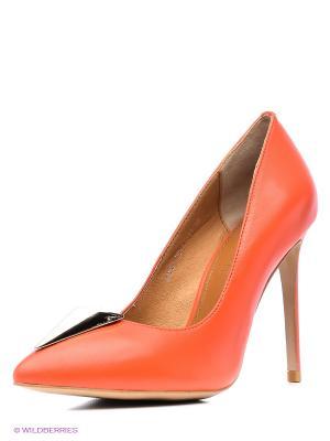 Туфли Grand Style. Цвет: красный