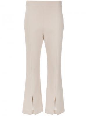 Front slits trousers Nk. Цвет: телесный